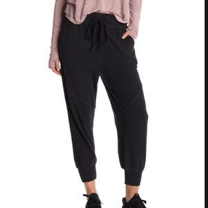 Free people S radiant black joggers